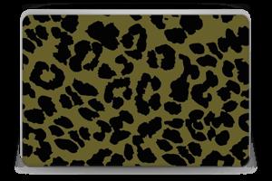 The green leopard skin Laptop 15.6
