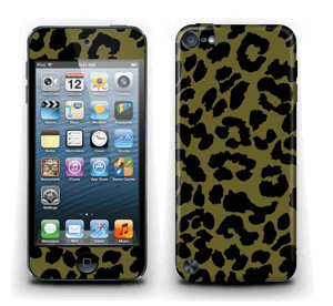 The green leopard skin IPod Touch 5th Gen