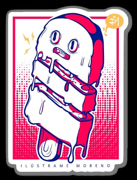 Glacé sticker