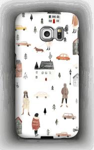 Magic Vibes deksel Galaxy S6 Edge
