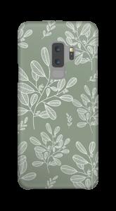 Illustrerade blad skal Galaxy S9 Plus