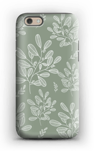 Dusty green case IPhone 6 tough
