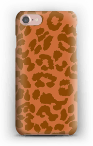 Rustrød Leopard deksel IPhone 7