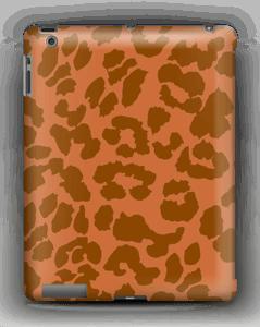 Rustrød Leopard deksel IPad 4/3/2