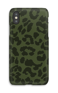Green on green case IPhone X