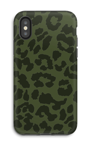 The green one case IPhone X tough