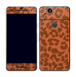 The orange leopard Skin Pixel 2
