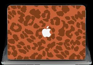 """The orange leopard Skin MacBook Air 13"""""""