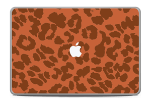 "The orange leopard Skin MacBook Pro 17"" -2015"