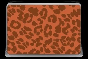 The orange leopard skin Laptop 15.6