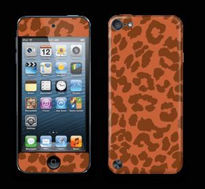 The orange leopard skin IPod Touch 5th Gen