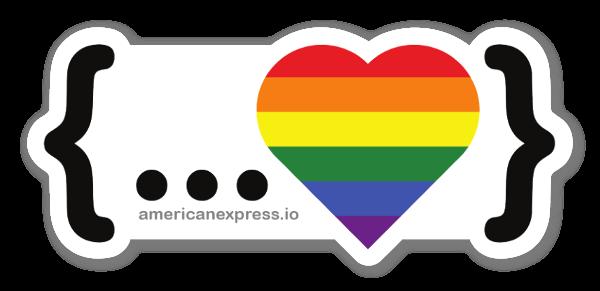 Diffondi l'Orgoglio sticker