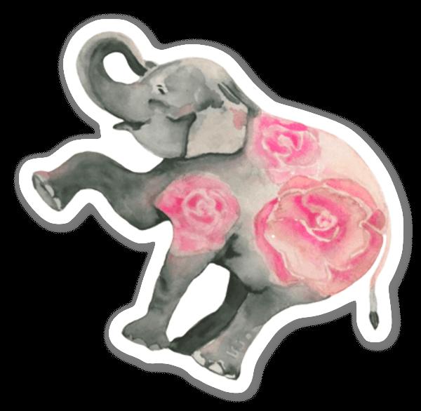 Fleur d'éléphant sticker