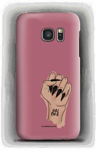 GRL PWR - Blush skal Galaxy S7