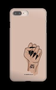GRL PWR - Nude skal IPhone 8 Plus