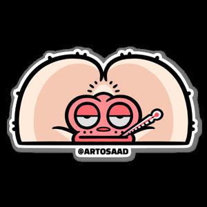 Saru Fever sticker