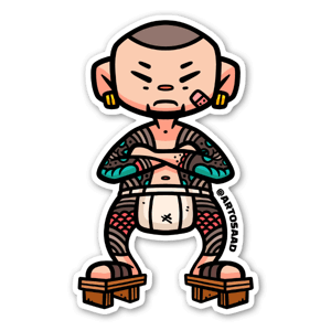 Yakuza sticker