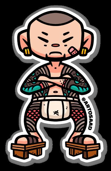 Yakuza Affe sticker