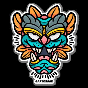 Guardian Mask sticker