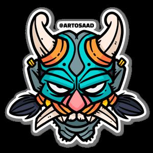 Pretty Troll sticker