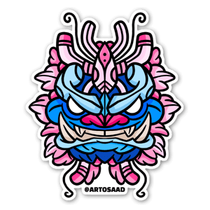 Sakura Mask sticker