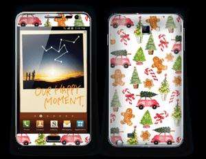 Happy Holidays skin Galaxy Note
