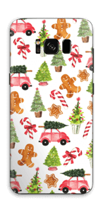 Happy Holidays skin Galaxy S8
