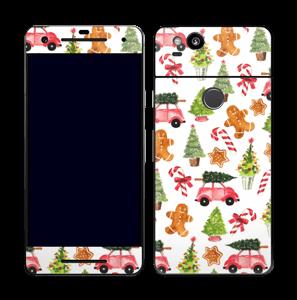 Happy Holidays skin Pixel 2