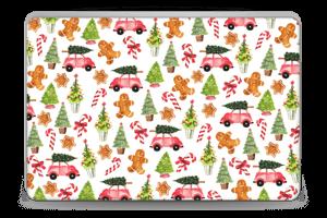 Happy Holidays skin Laptop 15.6