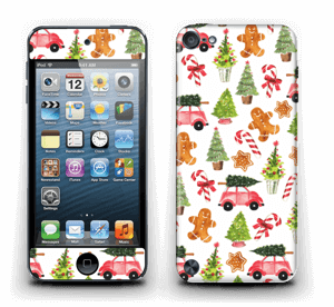 Happy Holidays skin IPod Touch 5th Gen