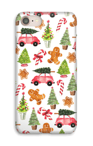 Happy Holidays  case IPhone 8