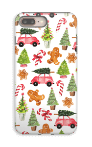 Happy Holidays  case IPhone 8 Plus tough