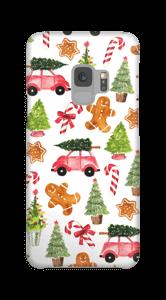 Happy Holidays  case Galaxy S9
