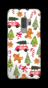 Happy Holidays  case Galaxy S9 Plus