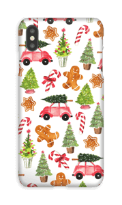 Happy Holidays  case IPhone XS Max