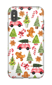 Happy Holidays  case IPhone XS Max tough