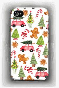 Happy Holidays  case IPhone 4/4s