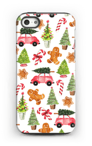 Happy Holidays  case IPhone 5/5s tough