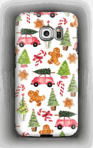Happy Holidays  case Galaxy S6 Edge