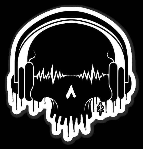 Death By Sound sticker