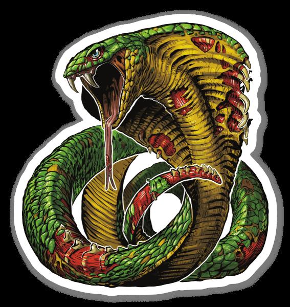 Zombie Cobra sticker