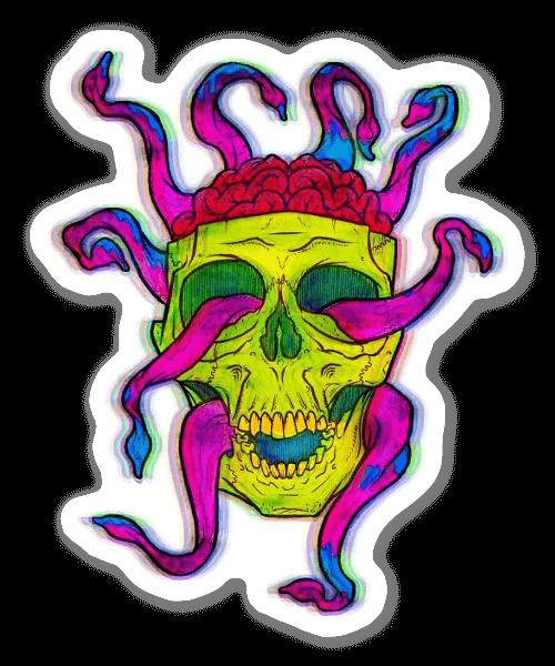 Hirngewinde sticker