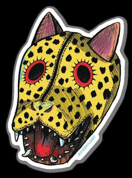 Jaguar Maske sticker