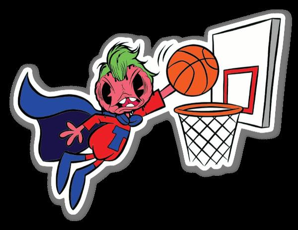 Tomatenkopf Basketball 2 sticker