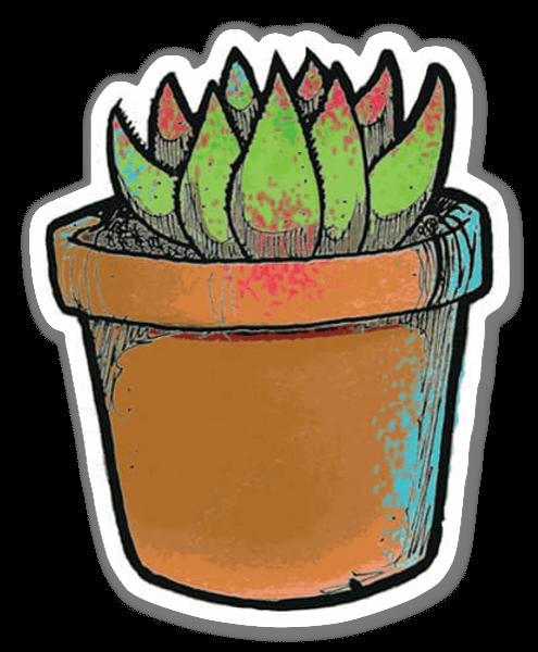 Cacti cactus?  sticker
