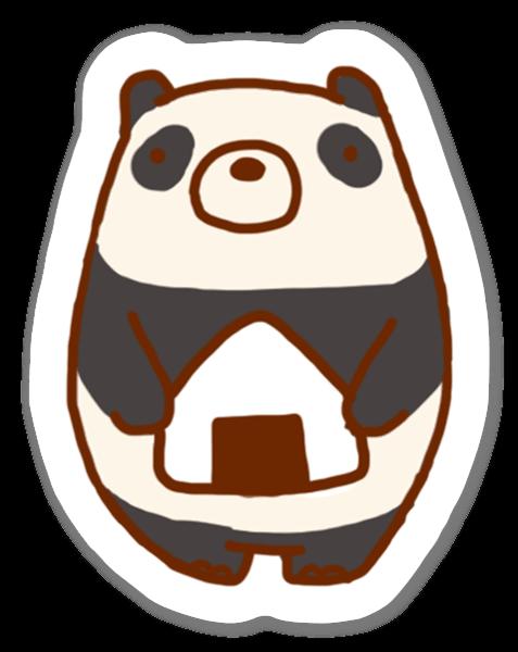 Panda Onigiri sticker