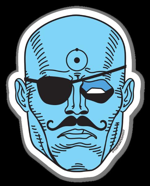 Dr. Manhattan sticker