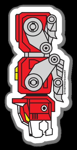 Roter Löwe sticker