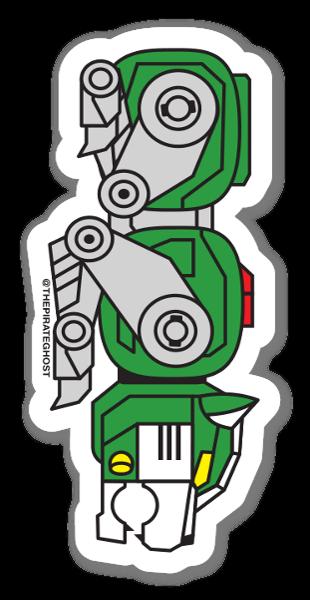Grüner Löwe sticker