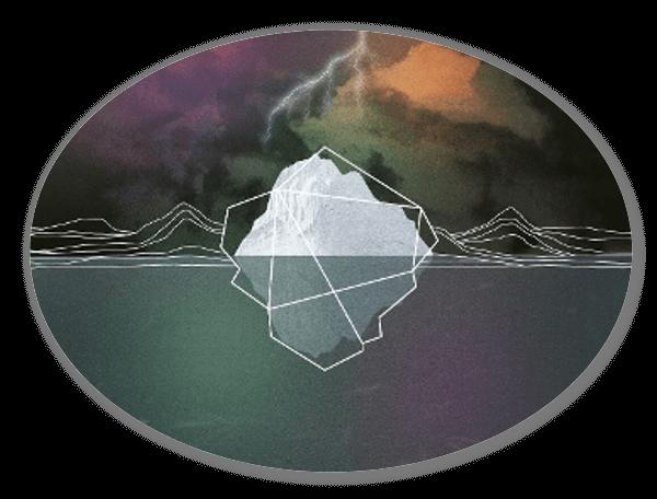 Eisberg sticker